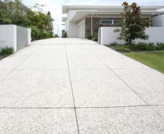 Call CobblePrint Concrete today on 07 3348 Cobbleprint Concrete Brisbane will bring exceptional quality and outstanding service to your home or workplace. Cement Driveway, Concrete Pathway, Concrete Look Tile, Concrete Patio Designs, Driveway Design, Exposed Concrete, Patterned Concrete Driveways, Exposed Aggregate Driveway, Outdoor Tiles