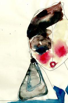 Drawing by Antonio Marras | We love!!