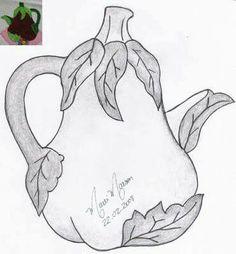 F Hand Applique, Wool Applique, Applique Patterns, Tee Kunst, Aplique Quilts, Coloring Books, Coloring Pages, Plaster Crafts, Tea Art
