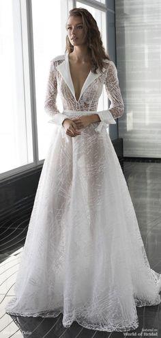 Long sleeves a line wedding dress : Dimitrius Dalia Wedding Dress - Diamond Bridal Collection Evening Dresses, Prom Dresses, Formal Dresses, Bridal Gowns, Wedding Gowns, Wedding Dress 2018, Pantsuit Wedding Dress, 2018 Wedding Dresses Trends, Bridal Dresses 2018
