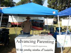 Advancing Parenting at a resource fair in Bakersfield. Non Profit, Bumper Stickers, Parenting Hacks, Bookshelves, Gazebo, Outdoor Structures, Organization, How To Plan, Education