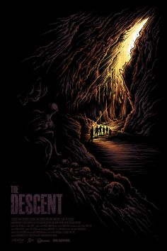 The Descent Poster by Dan Mumford  (Onsale Info)