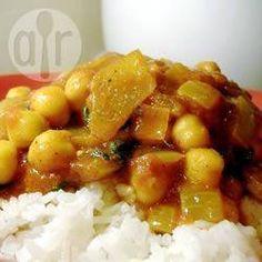 Kichererbsen-Curry @ de.allrecipes.com