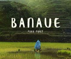 Banaue Free Brush font par KRISIJANIS MEZULIS - 3/09