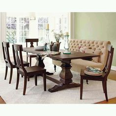 Table Banquette Gorgeous I Really Want This
