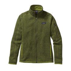 Patagonia Women\'s Better Sweater\u00AE Fleece Jacket - Supply Green SPYG