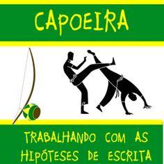 Atividades prontas sobre capoeira, que trabalham com as hipóteses de escrita. Saiba mais e veja a AMOSTRA no http://www.janainaspolidorio.com/capoeira-trabalhando-com-as-hipoteses-de-escrita.html