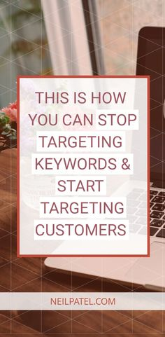 Stop Targeting Keywords and Start Targeting Customers If you want to be rank high in SERPs in you're going to need to start targeting your customers and not just keywords. Social Media Digital Marketing, Seo Marketing, Social Media Tips, Business Marketing, Business Tips, Internet Marketing, Online Marketing, Online Business, Online Entrepreneur