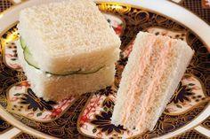 Salmon Mousse Tea Sandwiches