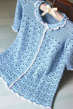 Blue dress for a newborn.1 of 4  just lovely