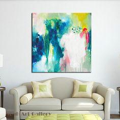 En gros Pas Cher Simple Abstraite Acrylique Peinture Sur Toile 100% Peint À La Main Pour La Décoration Murale Moderne sans cadre Livraison Gratuite
