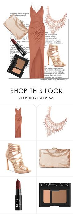 """Untitled #318"" by lugavicjasmina ❤ liked on Polyvore featuring Balmain, Kendra Scott, Jessica Simpson, Sasha, NYX and NARS Cosmetics"