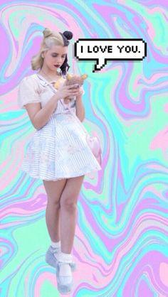 Melanie Martinez pastel grunge wallpaper - iPhone 5