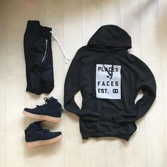 WEBSTA @ wdywt - 👍 or 👎: by for on-feet photos for outfit lay down photos Outfit Grid, My Outfit, Dope Outfits, Fashion Outfits, Fashion Trends, Ootd Fashion, Male Clothes, Men Street, Street Wear