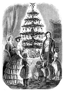 Victorian Christmas Tree - Group all your extended family #genealogy efforts into one dedicated website, we are experts in setting this up