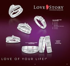 For that one great love of your life. Love Your Life, Great Love, Love Story, Catalog, Jewels, Jewerly, Brochures, Gemstones, Fine Jewelry