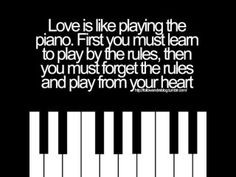 I don't listen to the rules anymore! I feel so free! I go to play piano to forget about my thoughts and calm myself down! I have no idea where I would be right now if I wouldn't be able to play piano! Great Quotes, Quotes To Live By, Me Quotes, Inspirational Quotes, Quotes App, Witty Quotes, Super Quotes, Quotable Quotes, Motivational Quotes