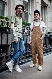 Картинки по запросу denim overalls men street style