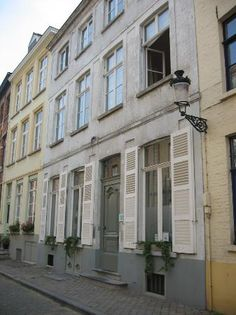 Where we are staying in Bruges