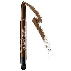 "Another winner from Too Faced! I wear the Too Faced Bulletproof 24-Hour Eye Liner in the ""Dirt Bag"" shade almost every day these days. Beautiful rich colour, easy to use, and long-lasting. What's not to love! (VEGAN)"