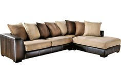 Gregory Beige 2 Pc Sectional-Living Room Sets (Beige)