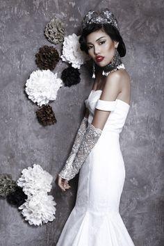 meera meera fall 2013 2014 mermaid wedding dress off shoulder straps -- Meera Meera Fall 2013 Wedding Dresses New Wedding Dresses, Elegant Wedding Dress, Special Occasion Dresses, Bridal Style, Wedding Accessories, Bridal Gowns, Dream Wedding, Bride, Mermaid Wedding