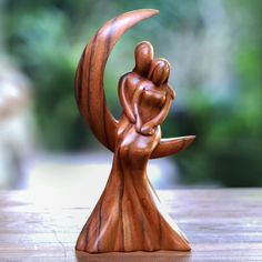 Wooden Statues, Wooden Art, Wooden Decor, Wood Carving Art, Wood Carvings, Buy Wood, Wood Wood, Wood Sculpture, Wood Signs