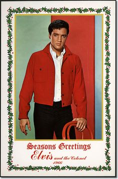 Seasons' Greetings : Elvis and the Colonel : 1966.