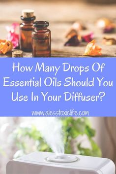 How Many Drops of Essential Oils Should You Add To Your Diffuser?