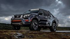 Nissan Navara Dark Sky Concept Is A Space Observatory On Wheels Now astronomers can go sky-gazing anywhere. Nissan already offers a number of futuristic products. Nissan Navara 4x4, Nissan Np300, Nissan Trucks, Pickup Trucks, Np 300 Frontier, Frontier Truck, Nissan Warrior, Navara Tuning, Porche 911