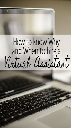 One of the best blogging tips you need is to be willing to hire a Virtual Assistant! Here is why!