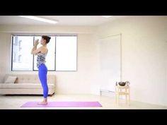 朝ヨガ お家で太陽礼拝B by Akiko Nakamura - YouTube