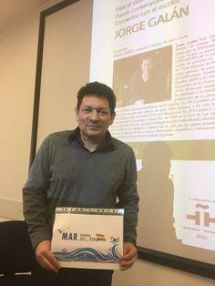 Jorge Galan, Escritor Salvadoreño en Universidad Católica de Milán