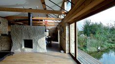 Vila vHeřmanově Městci připomíná architekturu amerických prérijních…