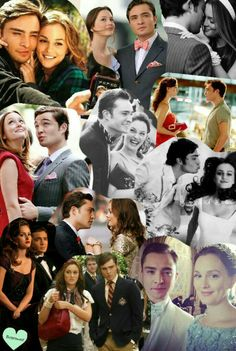 Blair and Chuck collage