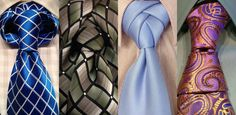 30 Different ways to tie a tie knots guide. Very cool. I see this on stylish gals and men. http://www.smokingpopes.net/different-ways-to-tie-a-tie/