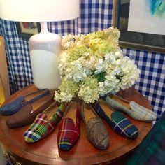 SMW Home with Stubbs & Wootton Custom Tartan Slipper for Women Tartan Shoes, Tartan Plaid, Sock Shoes, Shoe Boots, Preppy Style, My Style, Mens Fashion Shoes, Shoes Men, Women's Fashion
