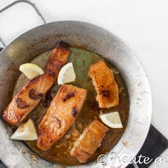 Leckerer Honiglachs Fish And Seafood, Sweet Potato, Nom Nom, Sausage, French Toast, Pork, Food And Drink, Healthy Recipes, Meat