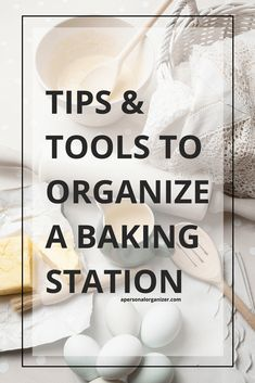 Baking ingredients organizing to make kitchen time a pleasure time. Check the organizing tips from Helena Alkhas A Personal Organizer.