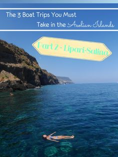 Lipari-Salina was probably my favourite boat trips in the Aeolian Islands. You get endless opportunities to take a dip in the  ocean as well as see some of the most amazing landscape! Learn all about it in my blog post :)