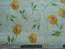 Žlté tulipány na jemnom smotanovom podklade