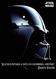 Extraído da página do Facebook Frases de Star Wars