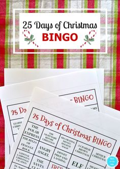 Printable 25 Days of