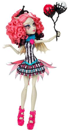 Monster High Freak du Chic Circus Scaregrounds and Rochelle Goyle Doll Playset Monster High Repaint, Monster High Cosplay, Ever After High, Love Monster, Monster High Dolls, Ooak Dolls, Barbie Dolls, Rochelle Goyle, Personajes Monster High