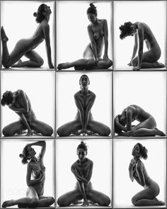 Nine Nudes in a Box - null