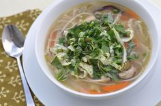 The Whole Life Nutrition Kitchen: Healing Chicken Ginger Soup