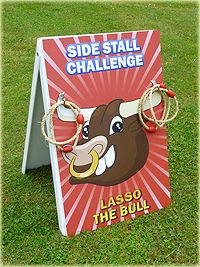 Lasso the bull game hire