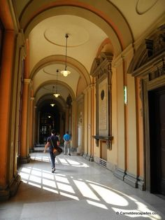 "Palazzo Poggi, Galeries - ""Visite de la sympathique Bologne"" by @carnetdescapade"