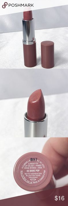 🆕Clinique Lip💋Color+Primer🆕 New Clinique Lip Color + Primer in Bare Nude (a low-shimmer mid-tone nude).  A rich, weightless formula that fuses bold and saturated color with a smoothing primer.  Check out my other Clinique listings to bundle and save! Sephora Makeup Lipstick