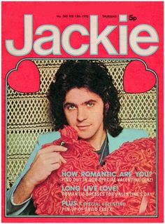 Jackie magazine - and David essex